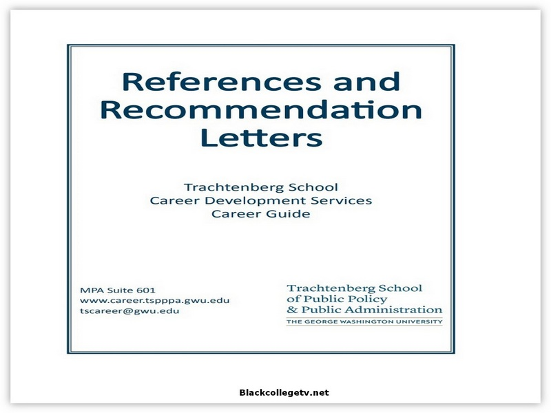 College Letter of Recommendation from Employer 05