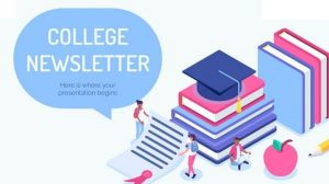 College Newsletter Templates Featured Images