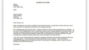 College Recruiting Letter 01